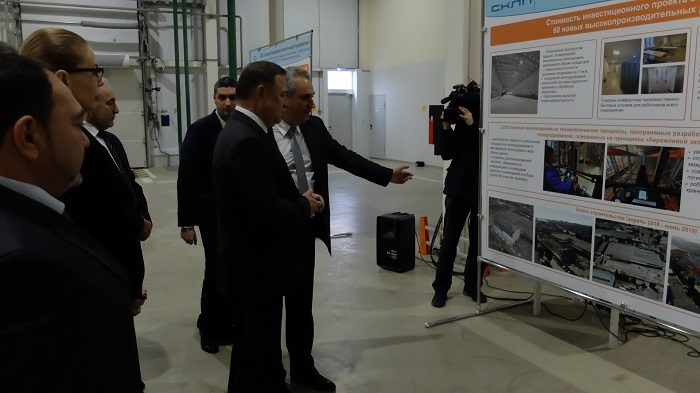 Новый логистический терминал открыт сегодня в Ростове